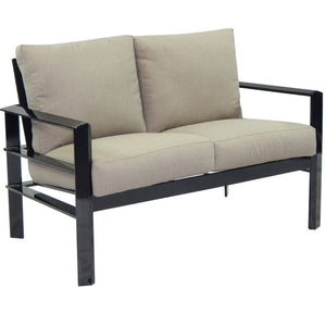 Vertice Metro Cushioned Loveseat