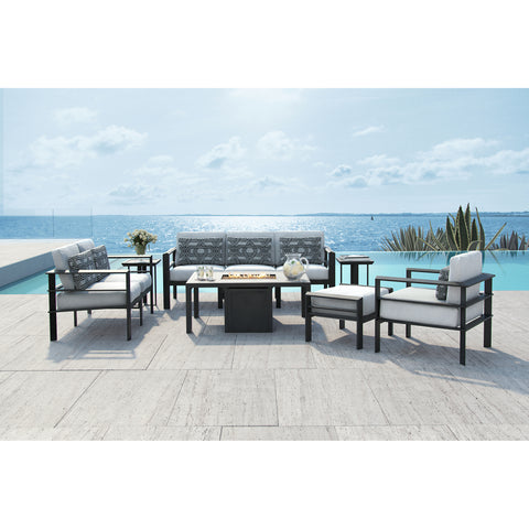 Vertice Seven Piece Deep Seating Set