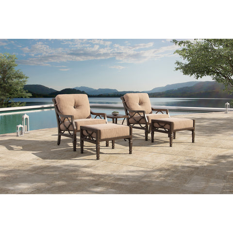 Villa Bianca Metro Five Piece Chat Set