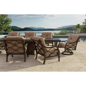Villa Bianca Nine Piece Dining Set