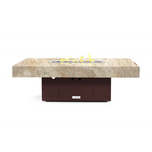 Santa Barbara Rectangular Lounge Height Fire Pit