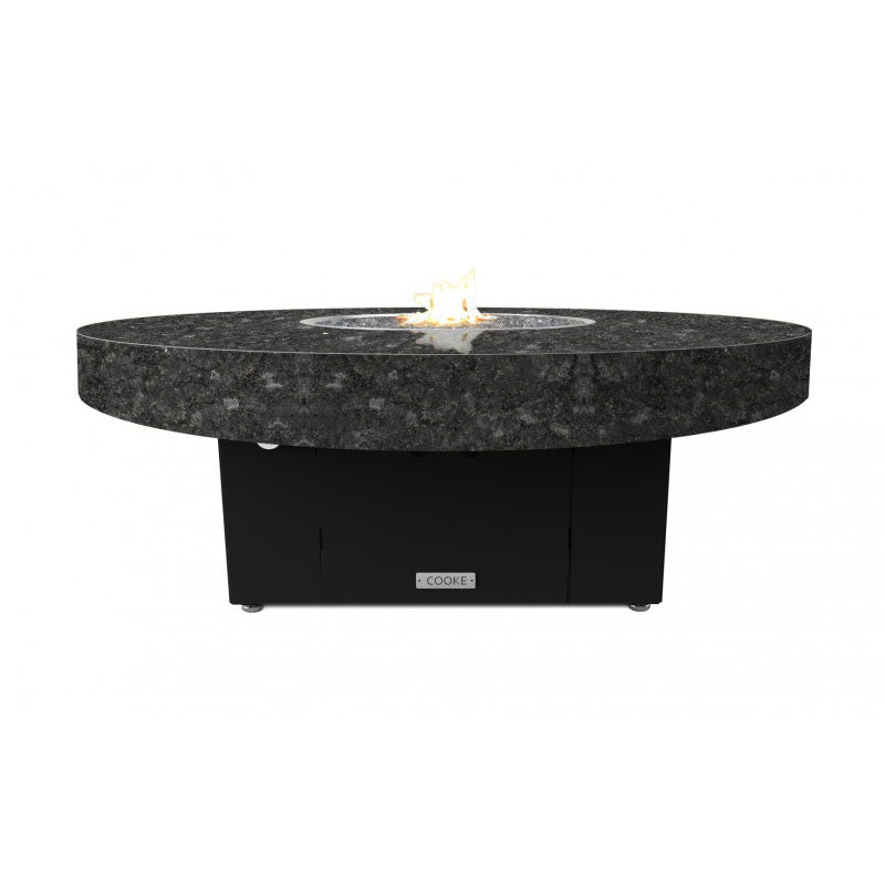 Santa Barbara Round Fire Pit Table