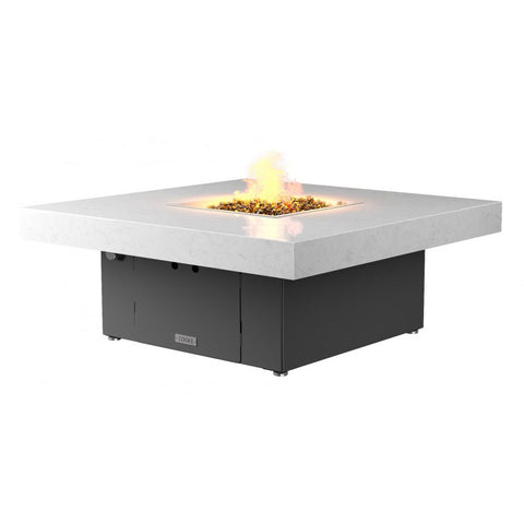 Santa Barbara Square Fire Pit Table