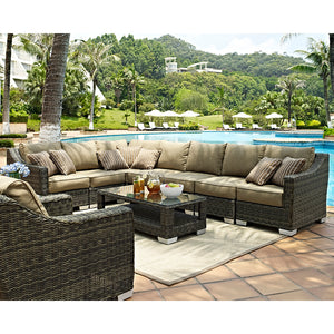 Palmetto Ten Piece Deep Seating Set