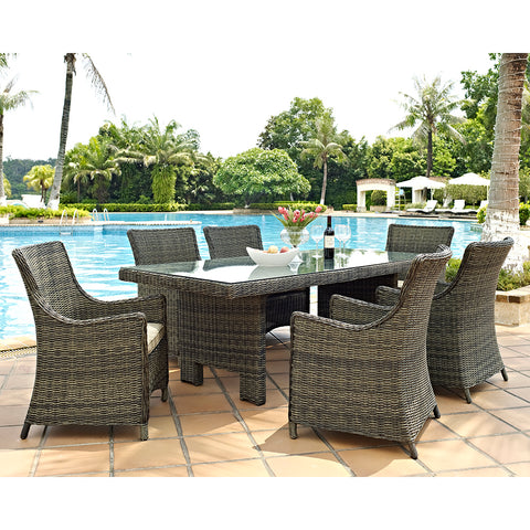 Palmetto Seven Piece Dining Set