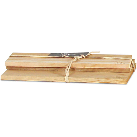 Set of Three Cedar Wood Planks