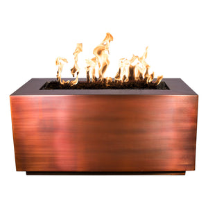Copper Rectangle Fire PIt