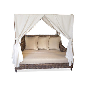 Hampton Day Lounger with cushions & canopy