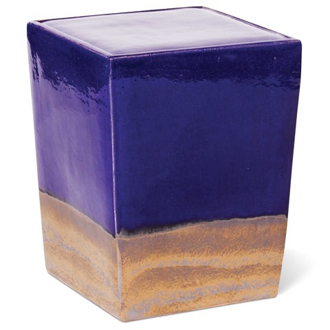 Two Glaze Square Cube