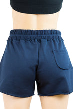 PANTALONCINO FRENCH TERRY BLU