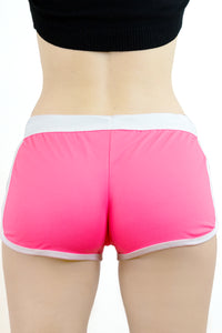 HOT PANT ROSA FLUO