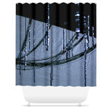 Freezing Rain Shower Curtain – Jacob M. Fisher - ArtWeAre Shower Curtains