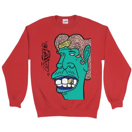 Blonde Streak Crewneck Sweatshirt – Eugene.art - ArtWeAre Sweatshirts