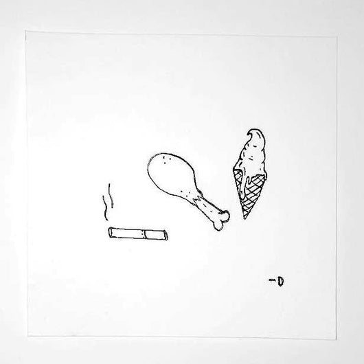 3 Good Things Drawing – Adi Dorel – ORIGINAL (1 of 1) - ArtWeAre Original Art