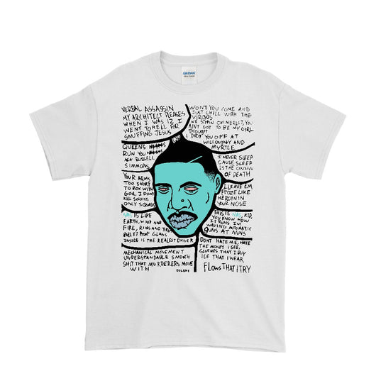 Nas + Lyrics T-shirt – Eugene.Art - ArtWeAre Shirts
