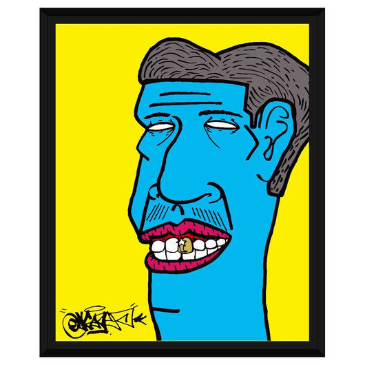 Gold Tooth Framed Canvas 16x20
