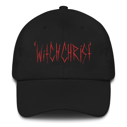 Witchchrist Logo Dad Hat - ArtWeAre hats
