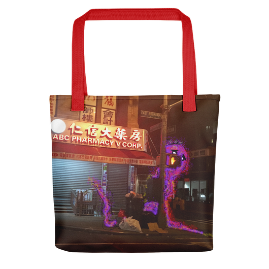 Tisha Chinatown Monster Tote - ArtWeAre bags