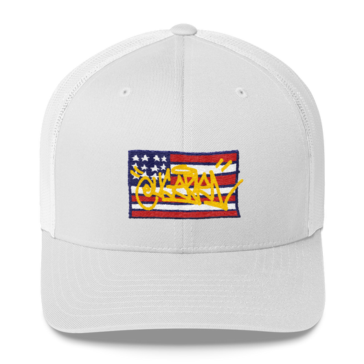 Graffiti USA Trucker Cap – Eugene.Art - ArtWeAre hats