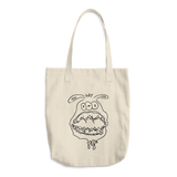 Monster Face Tote – Tisha - ArtWeAre
