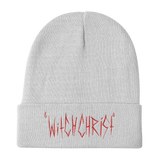 Witchchrist Logo Knit Beanie - ArtWeAre hats