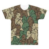 Btan Camo Premium T-Shirt - ArtWeAre Shirts