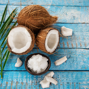 Natural ingredients including coconut oil