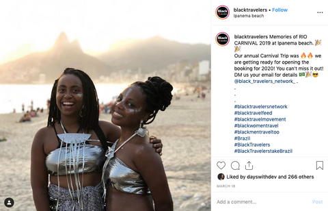 #blacktravelerstakebrazil