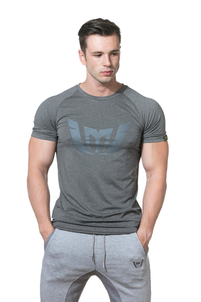 MEN'S RAGLAN SLEEVE 'WINGS OF STRENGTH' LOGO TEE