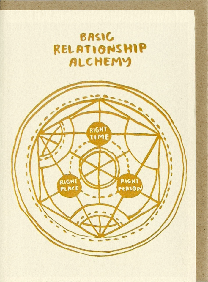 Basic Relationahip Alchemy - C3001