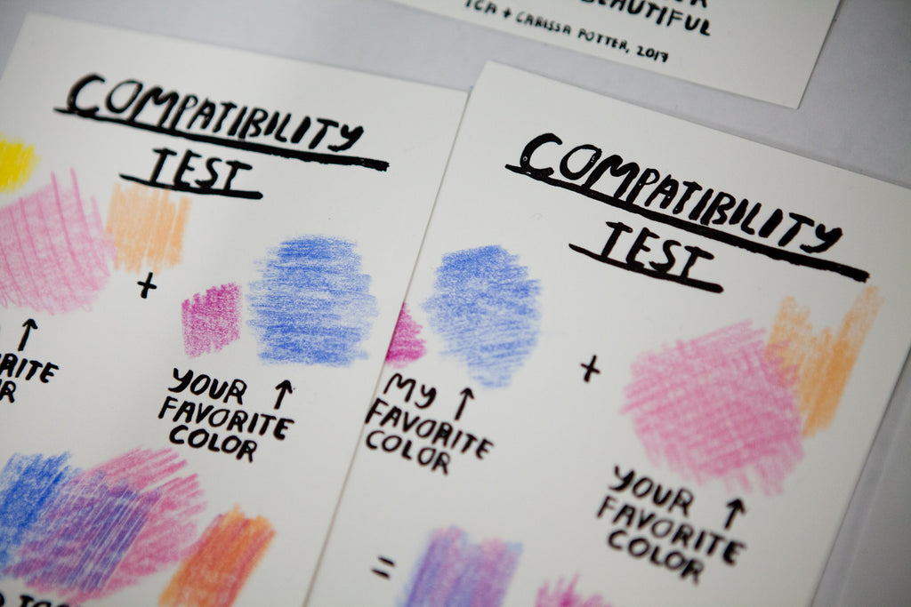 Color Compatibility Tests - Limited Edition of 36 - C3900