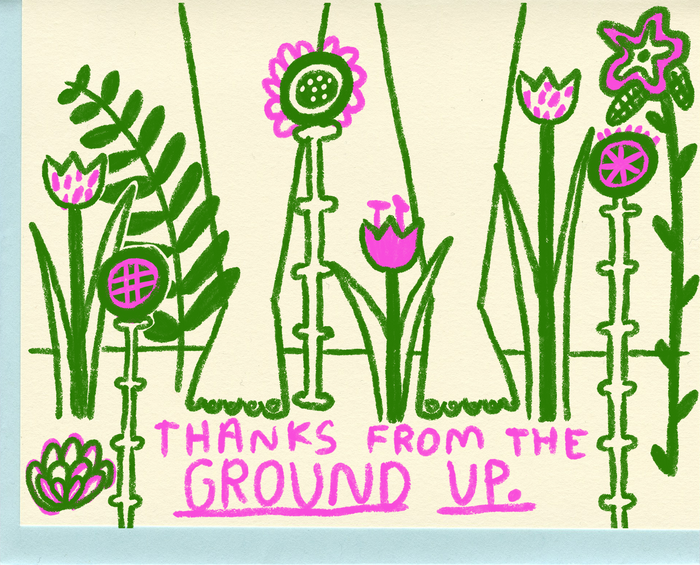 Thanks From the Ground Up - C4603