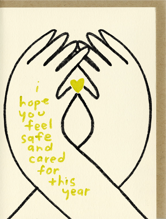 I Hope You Feel Cared For - C2310