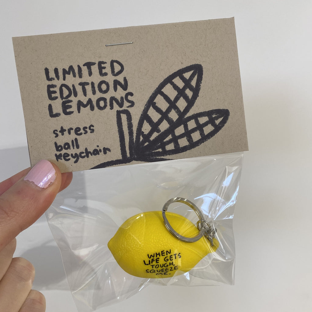 LIMITED EDITION Lemon Stress Ball - T8339