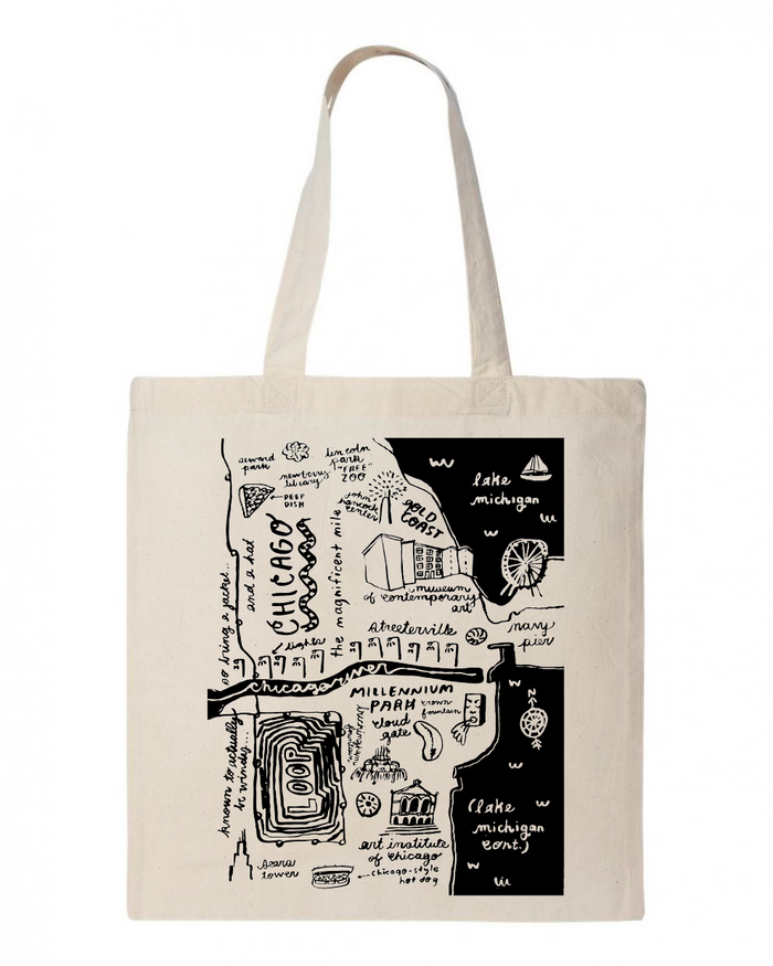 Chicago Tote - T8709