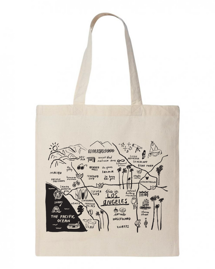 Los Angeles Tote - T8703