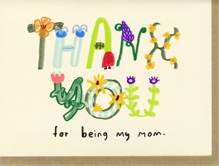 Thank You For Being My Mom - C7610