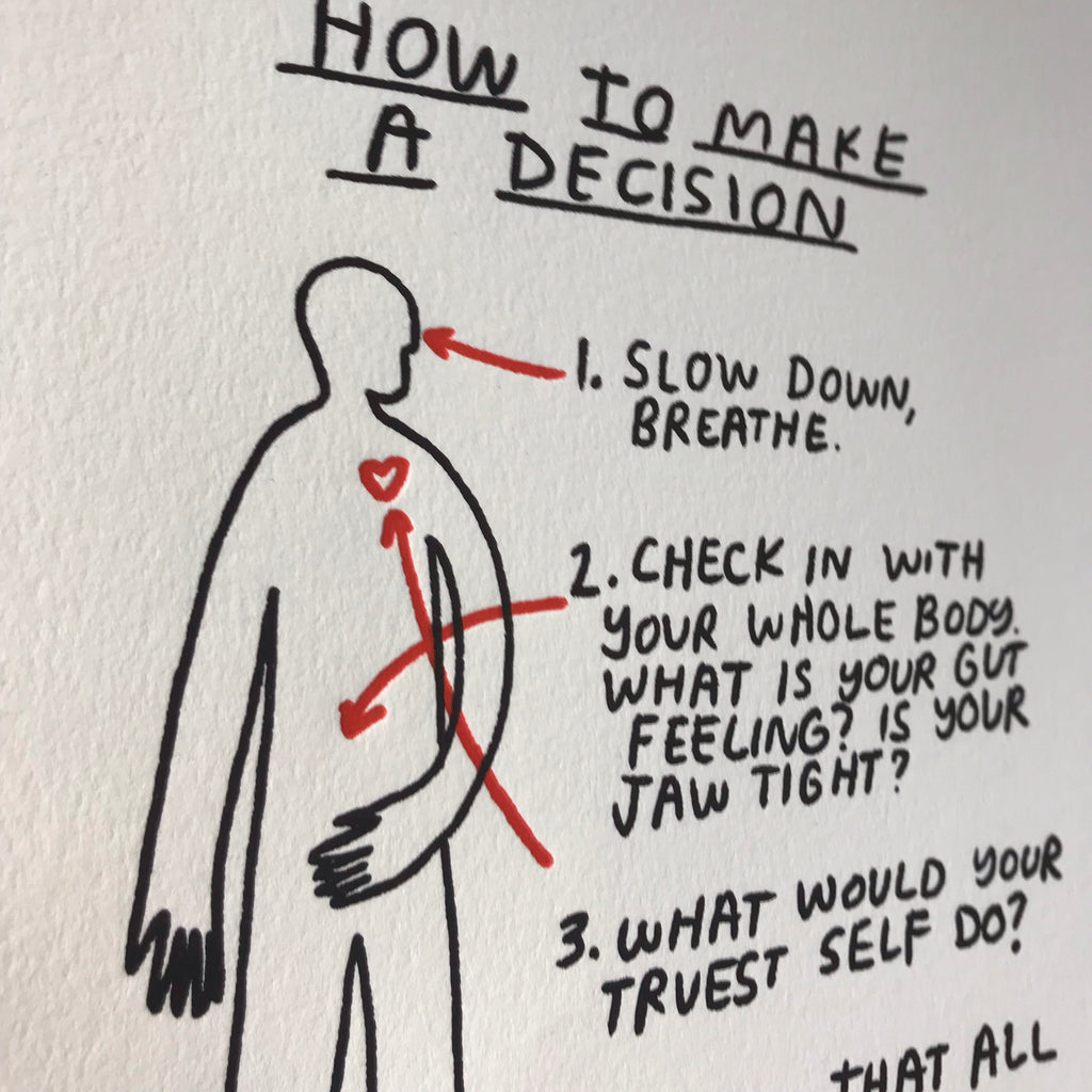 How To Make A  Decision - P9552