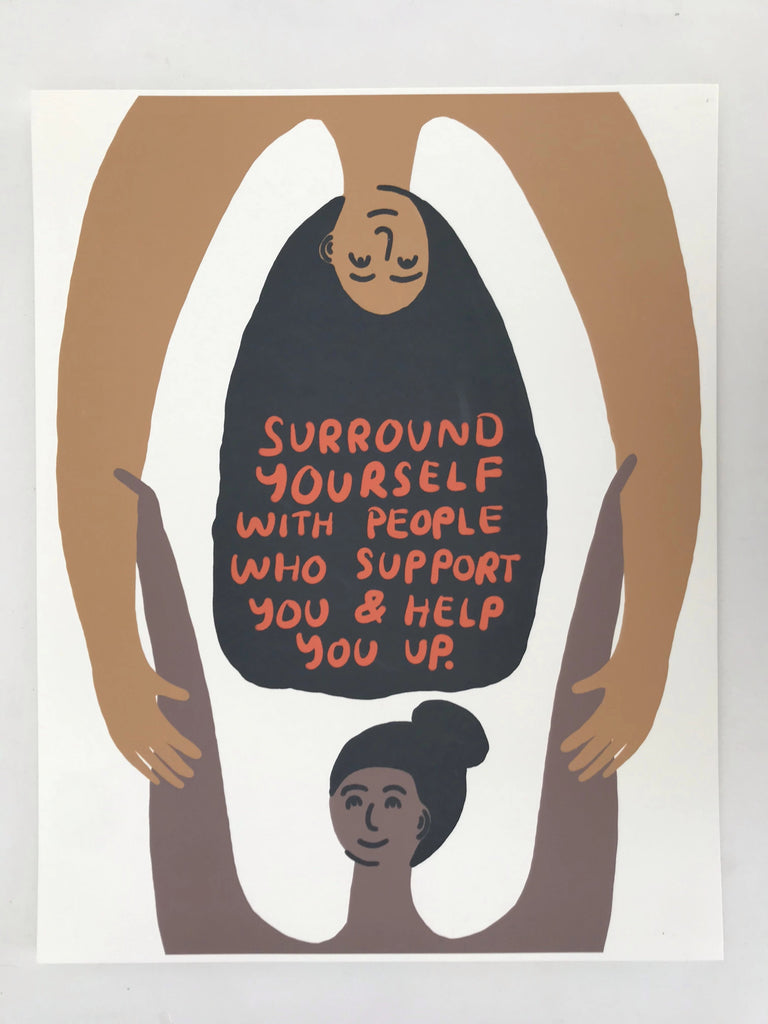 Surround Yourself Digital Print - P9365