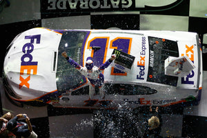 Joe Gibbs Racing Finishes 1-2-3 as Hamlin Captures Emotional Daytona 500 Victory