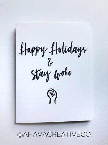 Social Justice Holiday Cards