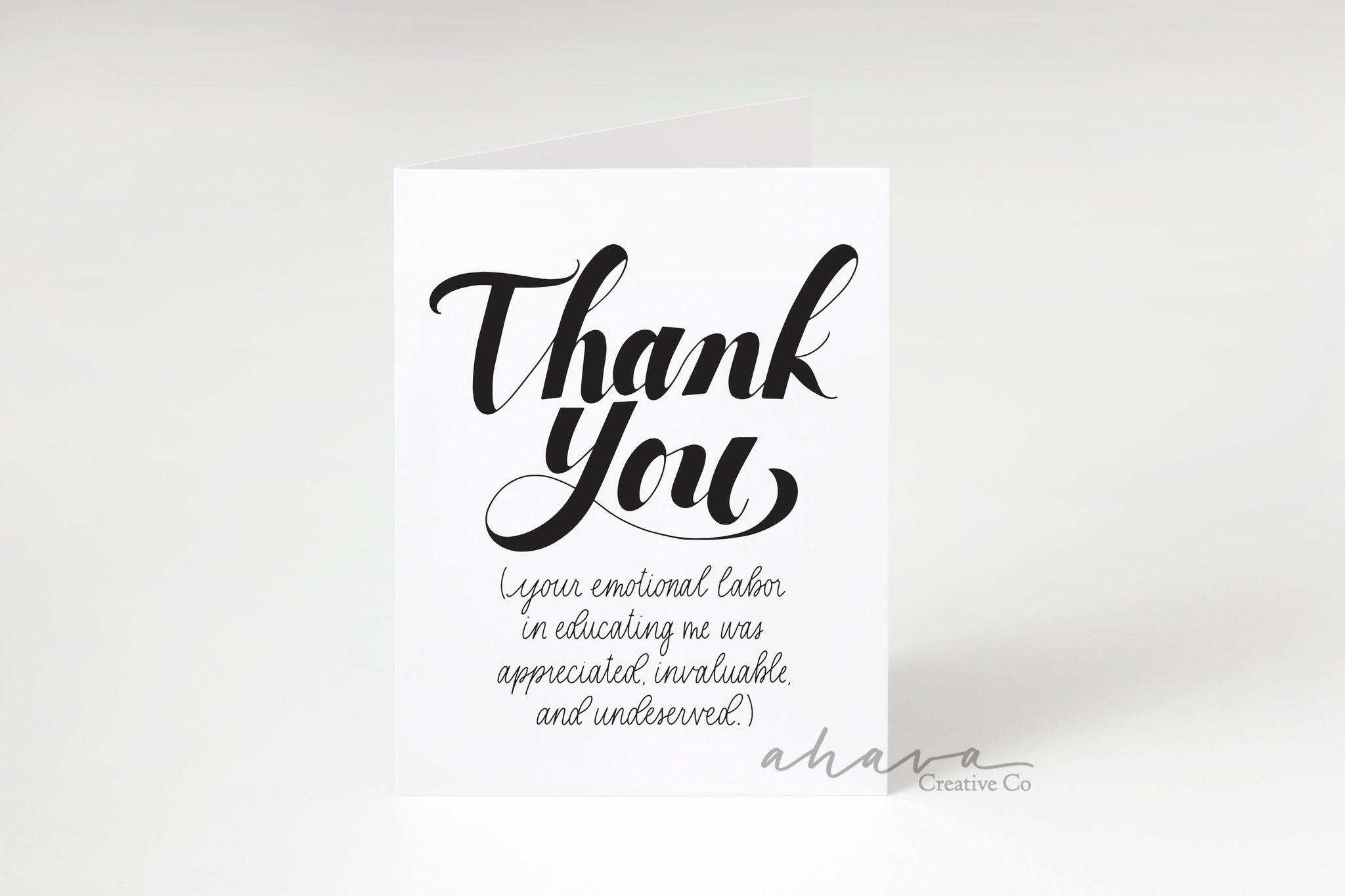 Educating Thank You Cards