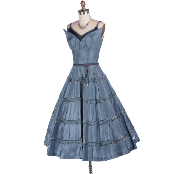 1950's jeanne barrie new york dress