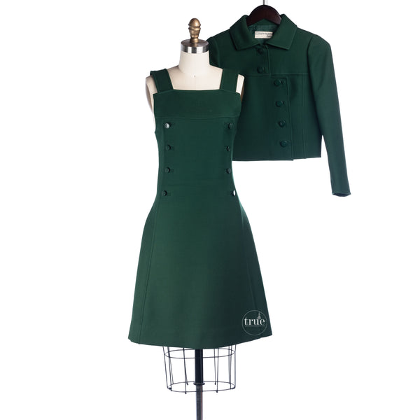 1960's andre courreges dress and jacket