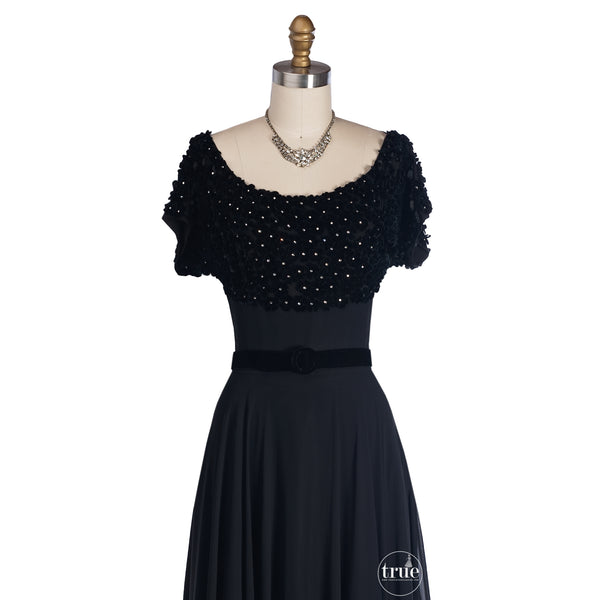 1940's cocktail dress
