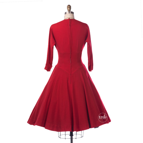 vintage rockabilly dress
