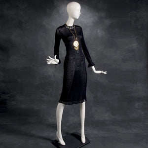 vintage 1960's dress ...designer St. John knit dress