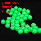 Rompin 100pcs Glow in the Dark Floater Balls