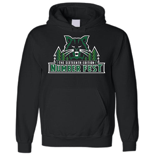 #FEST 16th Edition Bobcat Number Fest Pullover Hoodie