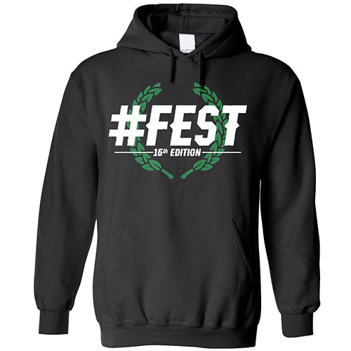 #FEST 16th Edition Laural Leaves Pullover Hoodie